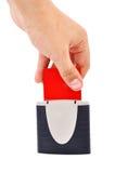Lettore dello Smart Card Immagini Stock