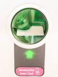 Lettore di schede Fotografia Stock Libera da Diritti