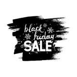 Lettrage de Black Friday Photographie stock libre de droits