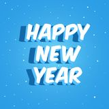 Lettrage de bonne année Photo libre de droits