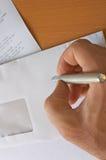 Lettre Image libre de droits