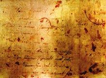 Lettre antique Photo libre de droits