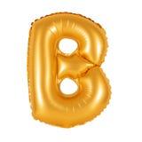Lettre B d'orange d'alphabet anglais Photos libres de droits