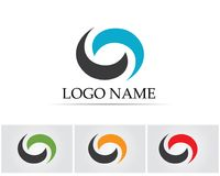 Lettre C Logo Template Design Vector Photographie stock libre de droits