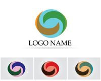 Lettre C Logo Template Design Vector Image stock