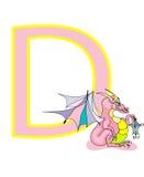 Lettre D Image stock
