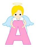 Lettre A d'alphabet Photographie stock libre de droits