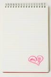 Lettre d'amour. Photographie stock libre de droits