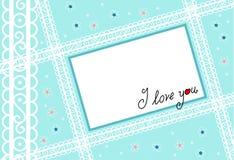 Lettre d'amour Images libres de droits