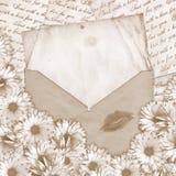 Lettre d'amour Photos libres de droits