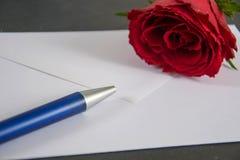 Lettre d'amour Image stock