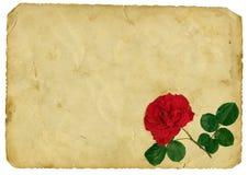 Lettre d'amour de cru Photos libres de droits