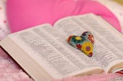 Lettre d'amour de Dieu Photographie stock libre de droits