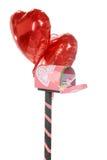 Lettre dans mon Valentine Mailbox Photographie stock