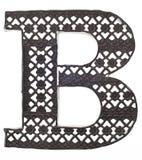 Lettre d corative j en m tal image stock image 17685941 - Lettre decorative metal ...