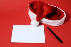 Lettre de fond Noël et la nouvelle année Images stock