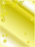 Lettre de gradient d'or Images stock