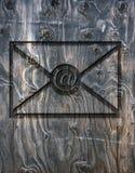 Lettre de l'email Images stock