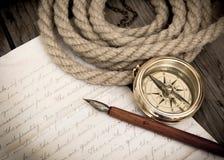 Lettre de l'explorateur image stock