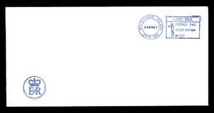 Lettre de la Reine Elizabeth II Images stock