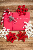 Lettre de Noël Photos stock