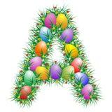 Lettre de Pâques - A Image stock