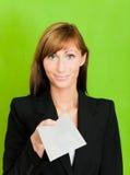 Lettre de poteau d'affaires Photo stock