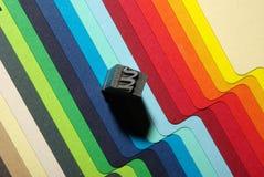 Lettre de typographie Photographie stock libre de droits