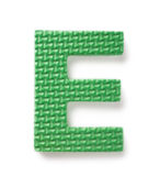Lettre E images libres de droits