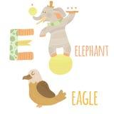 Lettre E illustration libre de droits