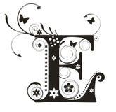 Lettre E Image libre de droits