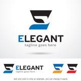 Lettre E Logo Template Design Vector élégant Photo libre de droits