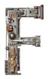 Lettre en métal Image libre de droits