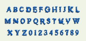 Lettre fraîche AZ Image stock
