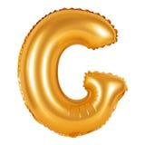 Lettre G d'orange d'alphabet anglais Images stock