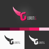 Lettre-g Logo Template Conception moderne d'illustration de concept du vecteur EPS10 Image libre de droits