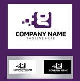 Lettre Logo Design Vector Business Card de G Photos libres de droits
