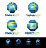 Lettre Logo Designs Photographie stock libre de droits