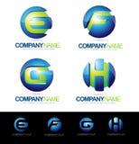 Lettre Logo Designs Image stock