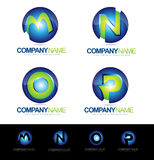 Lettre Logo Designs Photos stock