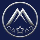 Lettre M pour Logo Company Photo libre de droits