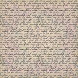 Lettre manuscrite Photos stock