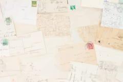 Lettre manuscrite illustration libre de droits