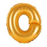 Lettre O d'orange d'alphabet anglais Images stock