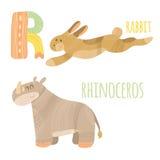 Lettre R illustration stock
