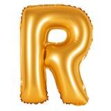 Lettre R d'orange d'alphabet anglais Image stock