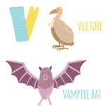 Lettre V illustration stock