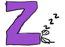 Lettre Z Images stock