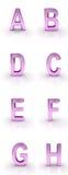 Lettres Fotografie Stock Libere da Diritti