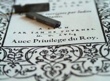 Lettres photo stock